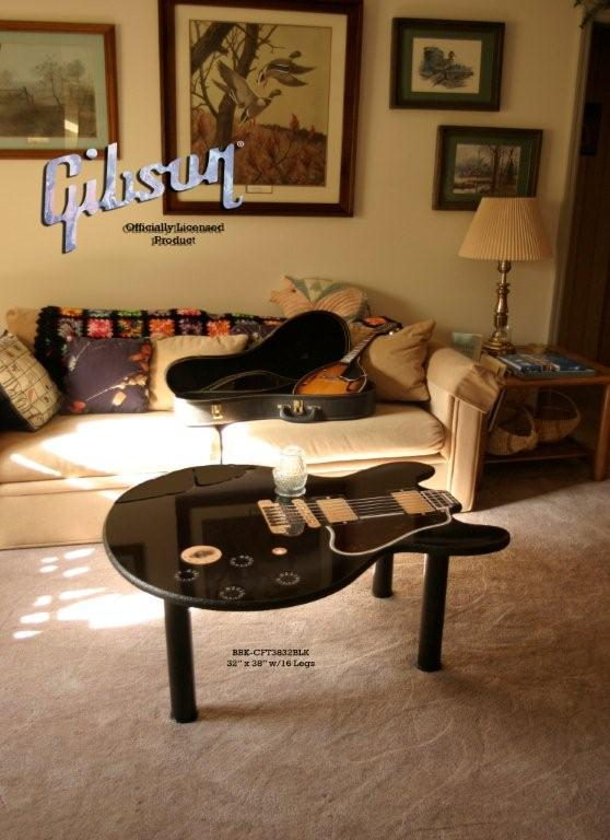 Square Inches, Gibson Guitar Coffee Table